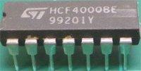 4000 NOR 2x 3 vstup+ invertor, DIL14 /HCF4000BE/