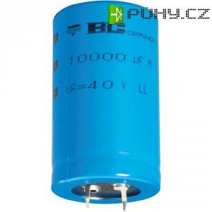 Snap In kondenzátor elektrolytický Vishay 2222 058 54473, 47000 µF, 10 V, 20 %, 50 x 35 mm