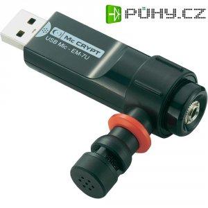 USB mikrofon s adaptérem pro sluchátka Mc Crypt EM-7U