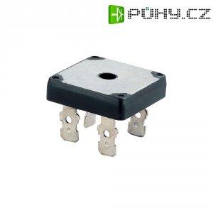 Usměrňov. můstek Diotec KBPC10/15/2504F, U(RRM) 400 V, U(FM) 1,2 V, 10 A (jen s chladičem)