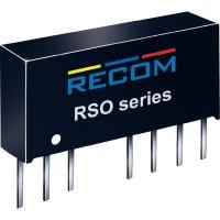 DC/DC měnič Recom RSO-2412SZ/H3 (10012619), vstup 9 - 36 V/DC, výstup 12 V/DC, 83 mA, 1 W