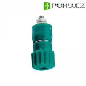 Pólová svorka, (Ø x d) 12 x 30 mm, zelená