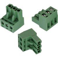 Svorkovnice Würth Elektronik 691351500003, 300 V, 5,08 mm, zelená