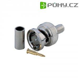 BNC krimp. zástrčka, pro kabely RG 59 B/U, 75 Ω, Ø 3,9 mm