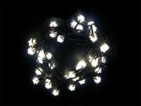 Vánoční osvětlení - diamant 4M IP44 denní světlo,40LED