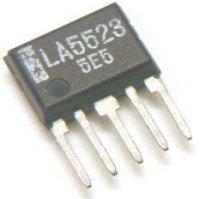 LA5523 - řízení motoru, SIP5