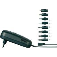 Síťový adaptér s redukcemi Voltcraft SPS24-48W, 9 - 24 V /DC, 48 W