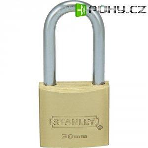 Visací zámek Stanley Solid Brass, 30 mm, dlouhý (81112371401)