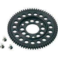 Ocelové hlavní ozubené kolo 2-rychlostní, 66 zubů, 1:10 (SEM0661)