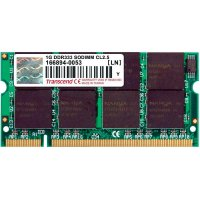Karta Transcend 1GB SO-DIMM DDR-RAM-333MHZ