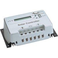 Solární regulátor nabíjení s mikrokontrolérem IVT, s displejem, SCD 10, 12/24 V, 10A,