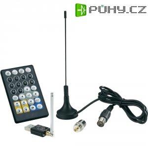 DVB-T USB tuner s dálkovým ovládáním a DVB-T anténou
