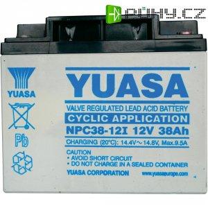 Olověný akumulátor, 12 V/38 Ah, Yuasa NPC