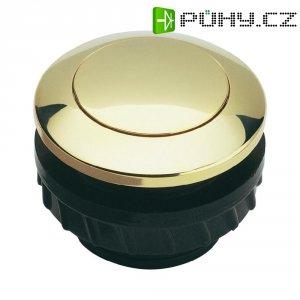 Zvonkové tlačítko Grothe Protact 62001, max. 24 V/1,5 A, zlacená mosaz