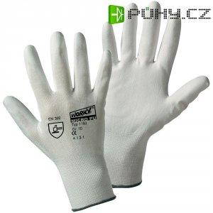 Pracovní rukavice Leipold + Döhle 1150, nylon s polyuretanovým nátěrem na dlani, velikost 9