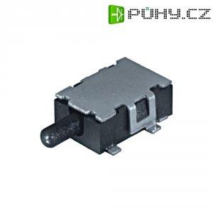 SMD tlačítko Namae Electronics, JDS-1108, 12 V/DC, 0,1 A, vyp./(zap.), černá