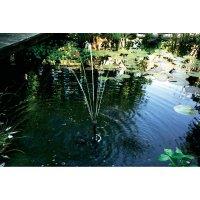 Solární zahradní fontána Solar Trend Riva, 240 l/h, 0,9 m