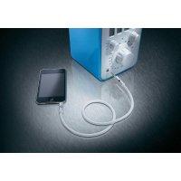 Prodlužovací kabel Oehlbach, jack zástr. 3.5 mm/jack zástr., bílý, 3 m
