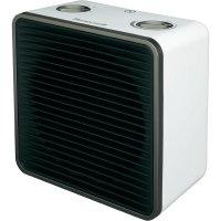 Topný ventilátor s termostatem Honeywell HZ 220, ventilace/1000/2000 W, stříbrná/bílá