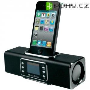 Bezdrátová sound stanice Technaxx MusicMan R BT-X1 pro iPod/iPhone, černá