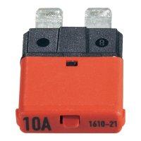 Automatická plochá pojistka CE1610-21-10A, 10 A, červená