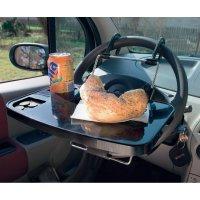 Víceúčelový stolek do auta