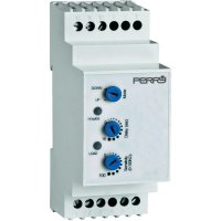 Hladinový senzor na DIN lištu Perry Electric 230 V 1CLRLE230E/2, šedý