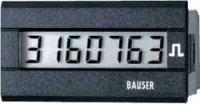 Digitální čítač impulsů Bauser, 3810,2,1,7,0,2, 115 - 240 V/AC, 45 x 22 mm, IP65