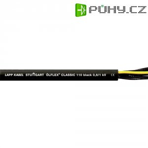 Datový kabel LappKabel Ölflex CLASSIC 110, 4 x 2,5 mm², 1 m, černá