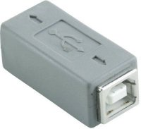 USB spojka 2x B zdířka