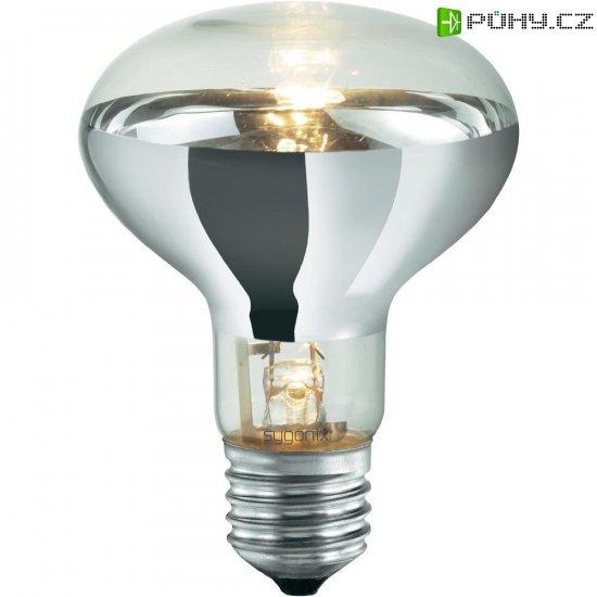 Halogenová žárovka Sygonix, E27, 42 W, 112 mm, stmívatelná, teplá bílá - Kliknutím na obrázek zavřete