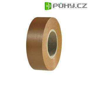 Izolační páska HellermannTyton HelaTapeFlex 1000+, 710-00605, 19 mm x 20 m, žlutá