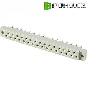 Zásuvková lišta Conec, 31 pólů, DIN 41617, rozteč 2,5 mm
