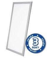 LED panel, 40W, 30x120cm, 2900lm, 4000K, stříbrný rám, LP03
