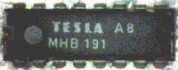 MHB191 - TV obvod, DIL16