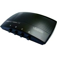 Manuální HDMI přepínač Vivanco, 25350, 1920 x 1080 px, 4 porty