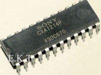 CXA1214P - dekodér SECAM, DIL24