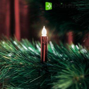 Vnitřní vánoční osvětlení Konstsmide 2316-550, 20 žároviček, červená, do sítě, 7,2 m