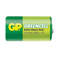 Baterie C (R14) Greencell GP
