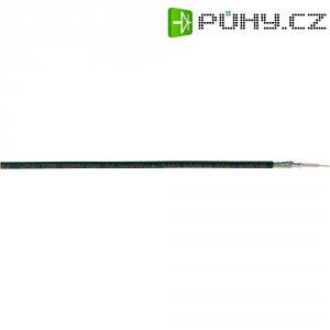 Koaxiální kabel Belden 7805, 50 Ω, RG 174, PVC, stíněný, 1 m, černá