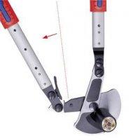 Nůžky na stříhání kabelů teleskopické Knipex 95 32 038, 570 mm