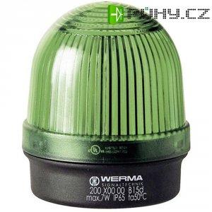 Trvalé osvětlení Werma Signaltechnik 200.200.00, 12 - 240 V / AC/DC, IP65, zelená