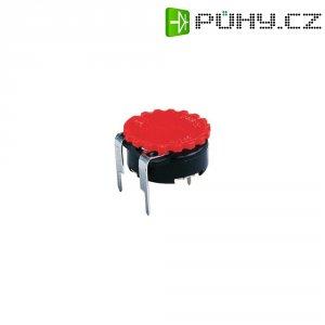 Přípojka rámu pro montážní lištu TS Piher (5371 RT), červená