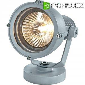 Venkovní sloupové svítidlo Sygonix Messina, E27, 23 W, stříbrná/šedá