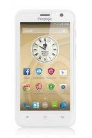 Prestigio MultiPhone 3450 DUO, bílý (PSP3450DUOWHITE)