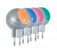 Noční LED svítidlo Osram Lunetta, 1,1 W, barevná/stříbrná