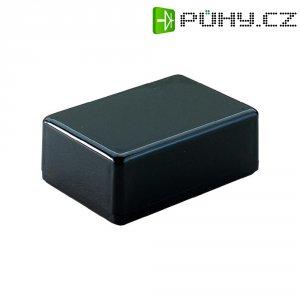 Plastové pouzdro Strapubox, (d x š x v) 72 x 50 x 26 mm, černá