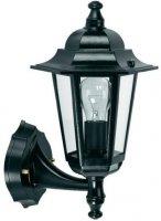 Nástěnné světlo Lucide kovové, černé 230V/max.60W DOPRODEJ
