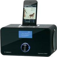 DAB+ rádio Albrecht DR 881 pro iPod/iPhone, FM, černá
