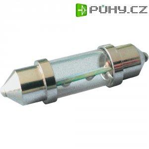 LED sufitka Eufab, 12 V, 10 x 36 mm, zelená